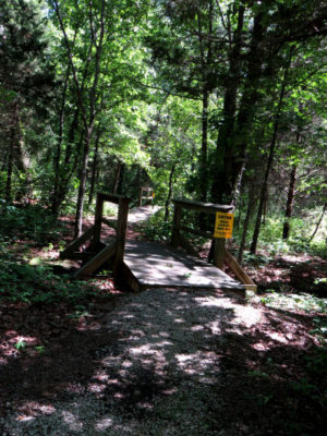 ShawneeMac Lakes Conservation Area trail