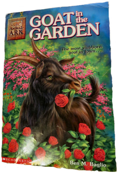"""goat books include """"Goat In the Garden"""""""