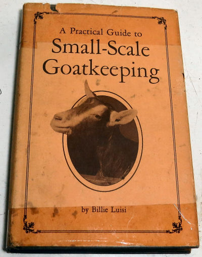 """goat care in """"A Practical guide to Small-Scale Goatkeeping"""""""
