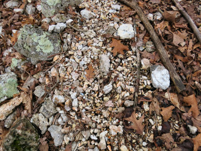 hillside gravel