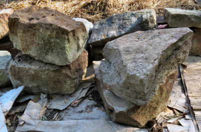 pieces for assembling rock jigsaw puzzles