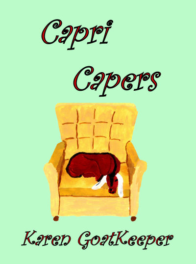 cover for Capri Capers by Karen GoatKeeper