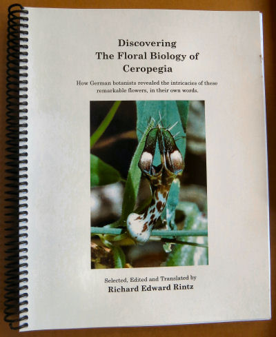 cover for Discovering the Floral Biology of Ceropegia by Dr. Richard Rintz