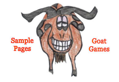 read sample pages from Goat Games by Karen GoatKeeper
