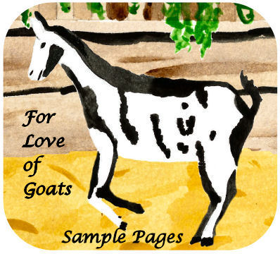 read sample pages from For Love of Goats by Karen GoatKeeper