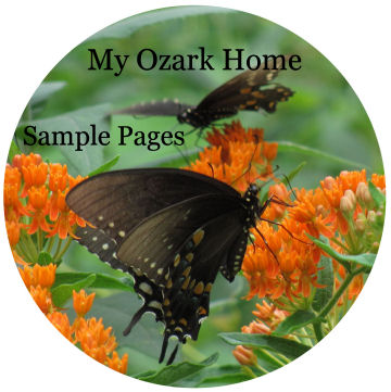 read sample pages from My Ozark Home by Karen GoatKeeper