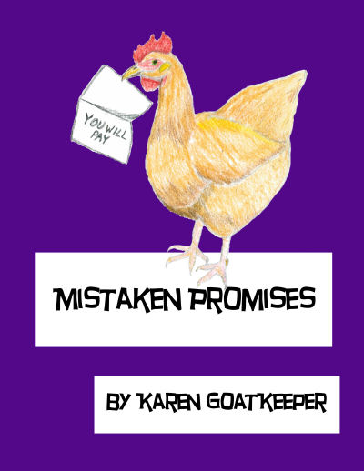 cover for Mistaken Promises, Hazel Whitmore #3 by Karen GoatKeeper