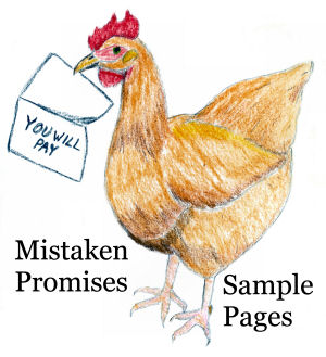 read sample pages from Mistaken Promises, Hazel Whitmore #3 by Karen GoatKeeper