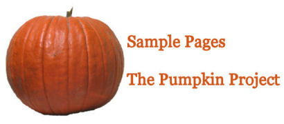 read sample pages from The Pumpkin Project by Karen GoatKeeper